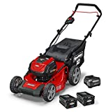 Snapper XD 82V MAX Electric Cordless 21-Inch Lawnmower Kit with (2) 2.0 Batteries & (1) Rapid...