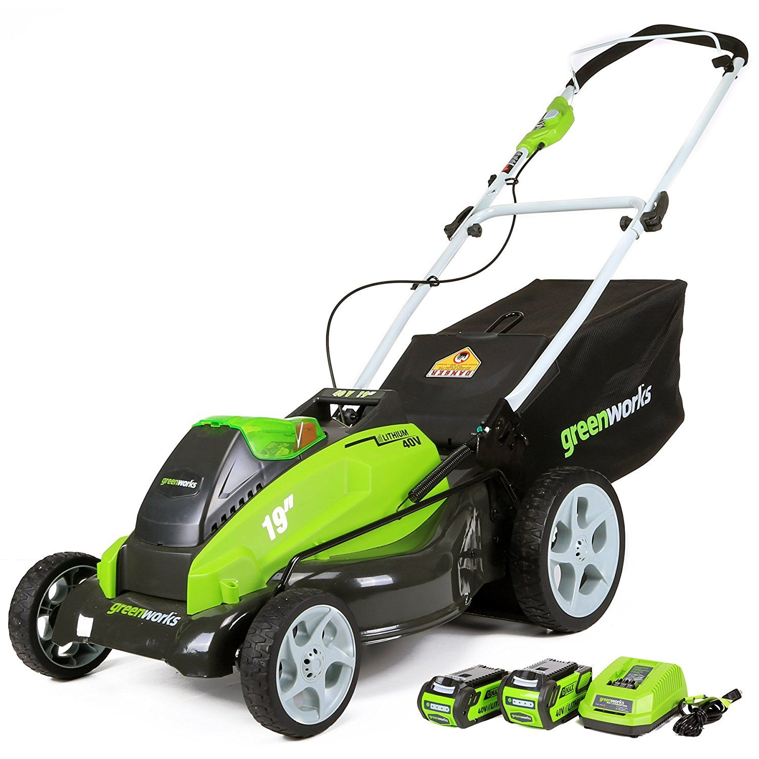 GreenWorks G-MAX Mower