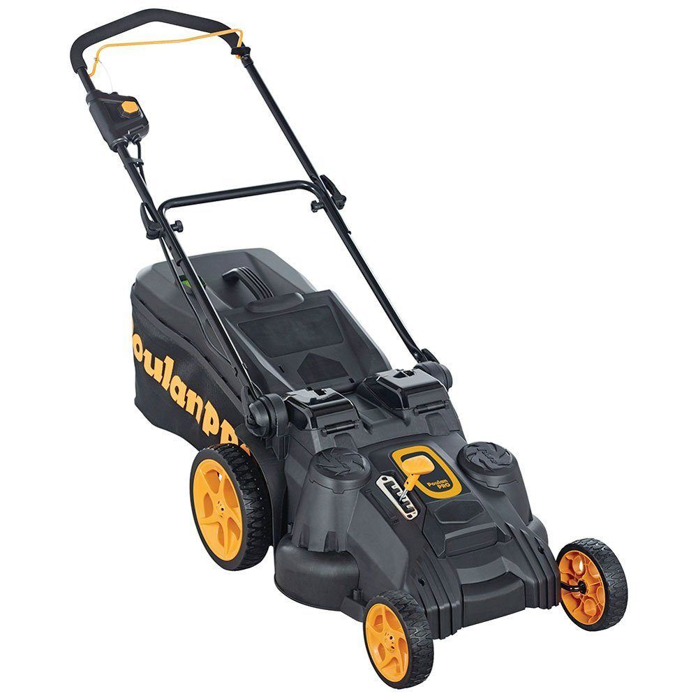Poulan Pro 21 in. 58-Volt Cordless 3-in-1 Push Lawnmower