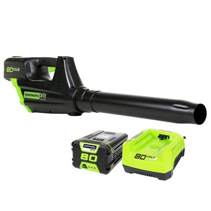Greenworks GBL80300 Cordless Leaf Blower Review