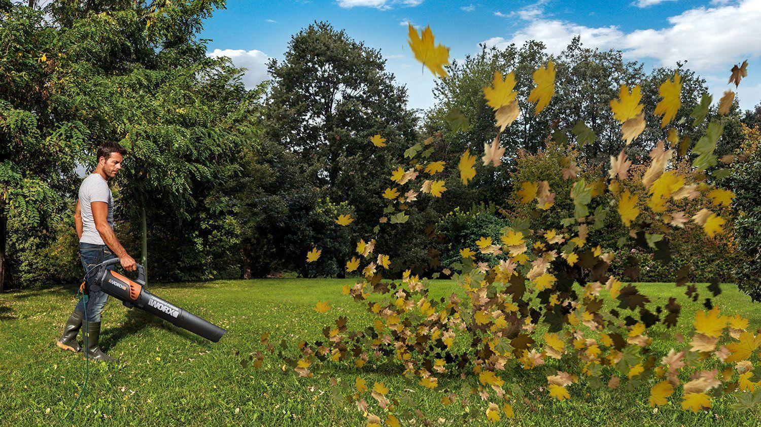 Worx Turbine 12 Amp Corded Leaf Blower WG520 Review
