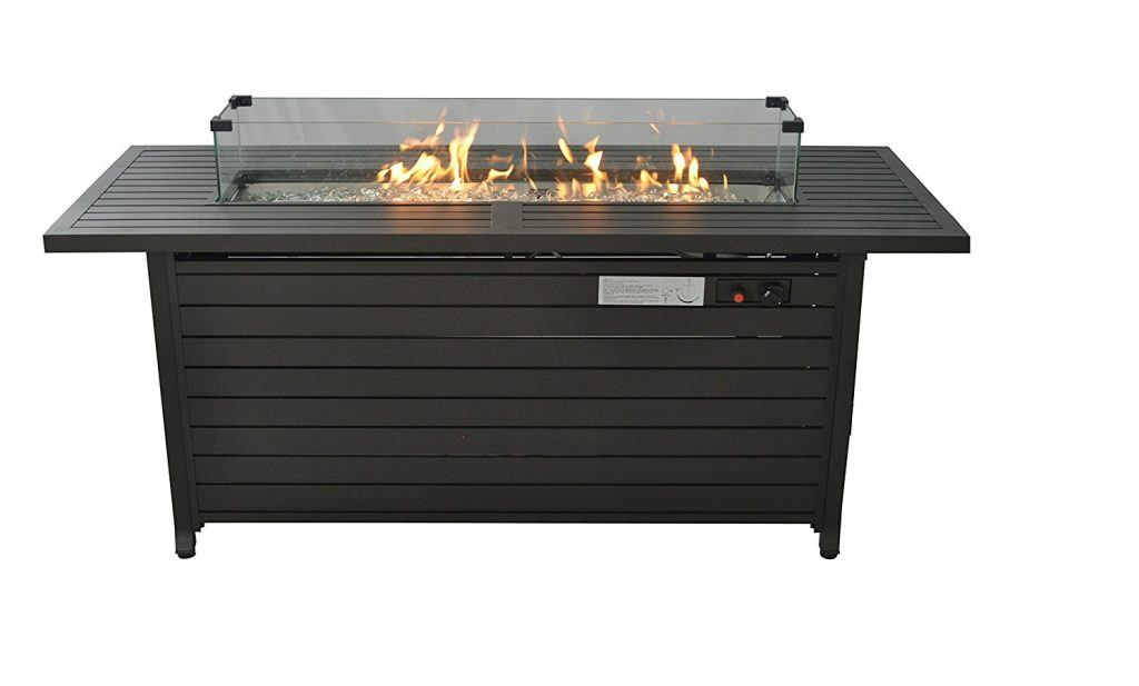 Legacy Heating Extruded Aluminum Fire Table