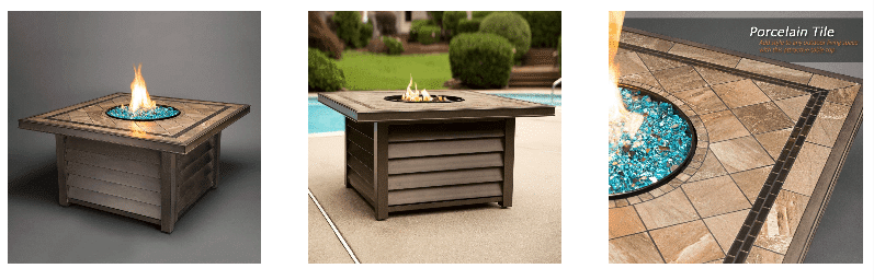 Agio Winchester Ourdoor Gas Fire Pit