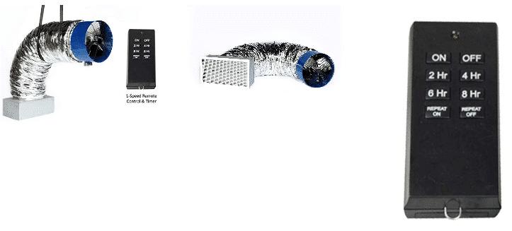 QA-4800(R) Whole House Fan