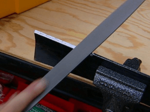 sharp lawn mower blade