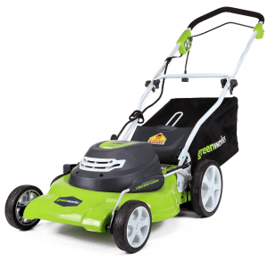 GreenWorks 20-Inch 12 Amp Corded Electric Lawn Mower 25022 Walk Behind Lawn Mowers Garden [...]