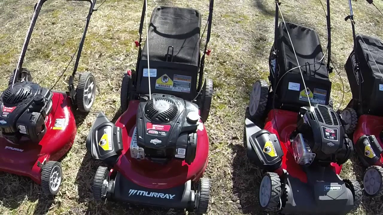 lawn mower comarison guide