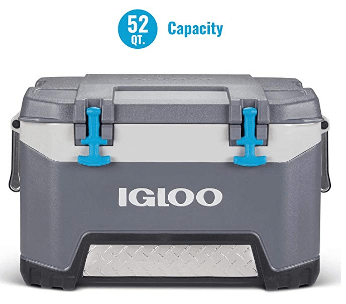 Igloo BMX 52 Quart Cooler with Cool Riser Technology, Fish Ruler, and Tie-Down Points - 16[...]