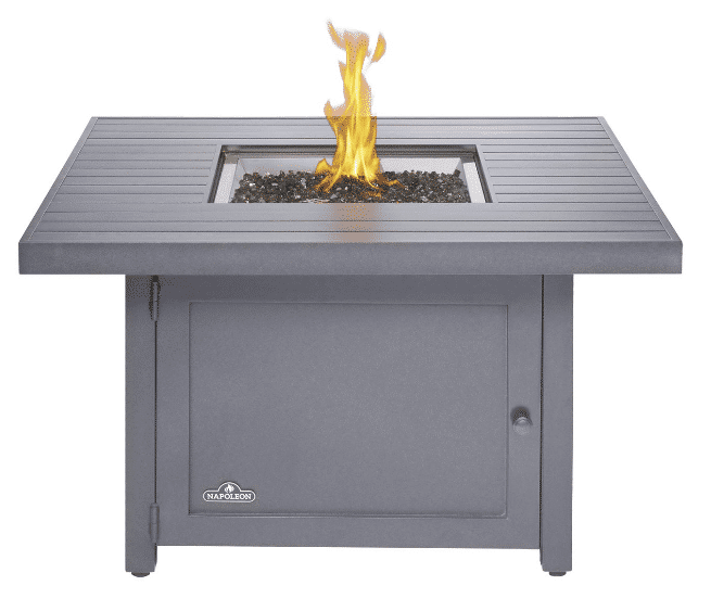 Napoleon Hamptons Patioflame 42-Inch Square Propane Gas Fire Table