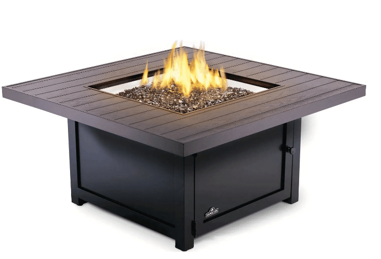 Napoleon Muskoka Patioflame 50-Inch Square Propane Gas Fire Pit Table