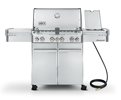 Weber Summit S-470 Stainless Gas Grill