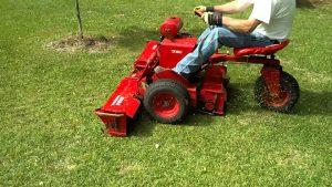 riding cylinder mower